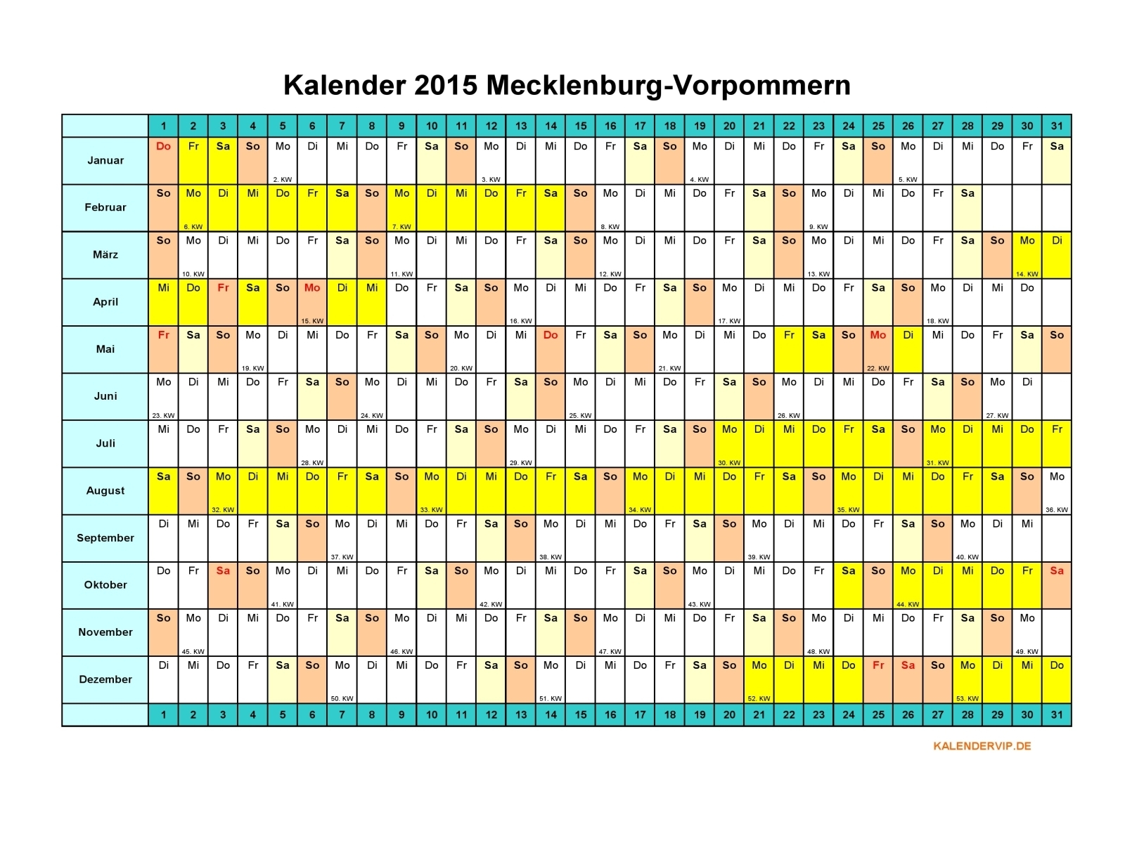 Kalender 2015 Excel Related Keywords & Suggestions - Kalender 2015 ...